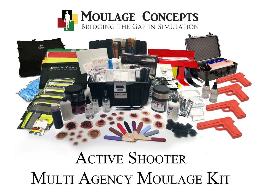 active shooter full scale training exercise kit mc new
