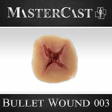 MasterCast Bullet Wound 003