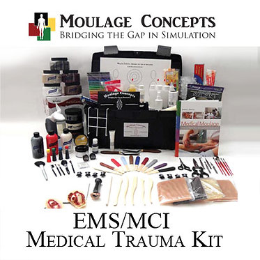 All Hazards/MCI Trauma Moulage Kit