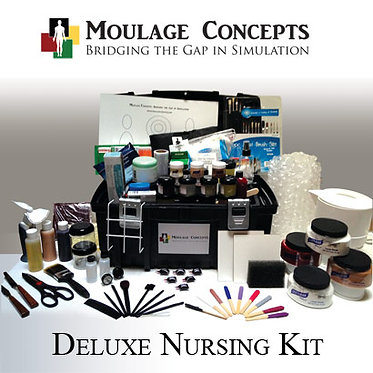Deluxe Nursing Moulage Kit