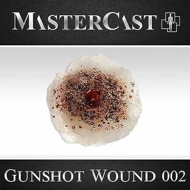 MasterCast Gunshot Wound 002