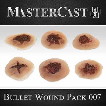 MasterCast Bullet Wound Pack 007
