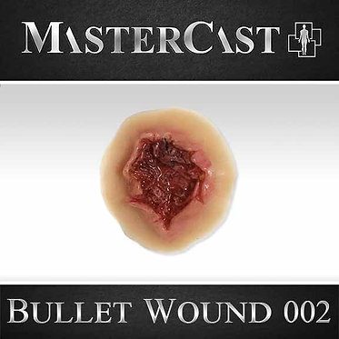 MasterCast Bullet Wound 002