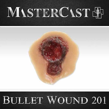 MasterCast Bullet Wound 201