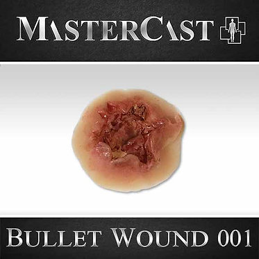 MasterCast Bullet Wound 001