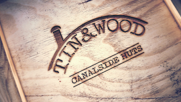 Tin & Wood Canalside Huts