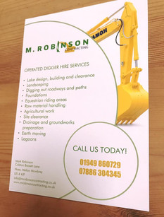 M Robinson Contracting