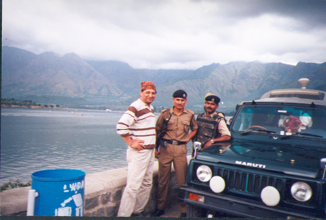 Dreharbeiten mit indischer Armee in