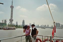 Dreharbeit in China