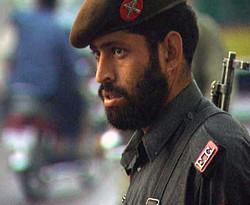 Militärpolizei in Pakistan