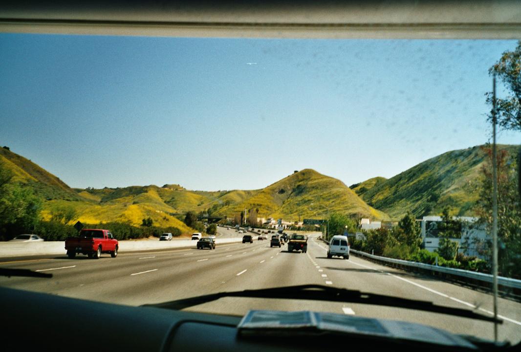 Kalifornien-Dreharbeiten