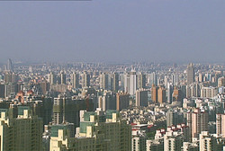 Hochhäuser in Shanghai