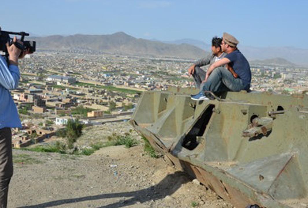 Traumziel Afghanistan, mit Markus