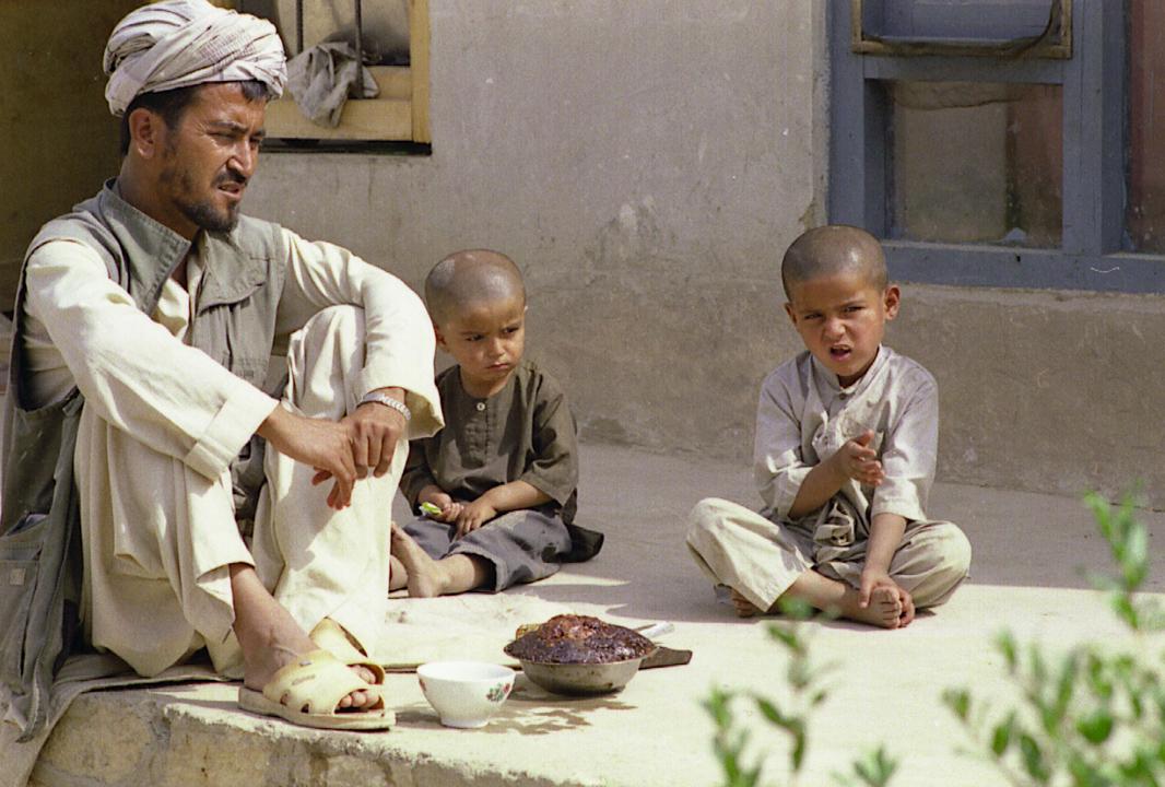 Opiumbauer im Nordafghanistan