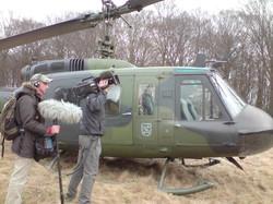 Dreharbeiten, Bundeswehr