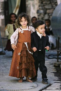 Kinder im Jemen