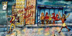 Northwest 12 Days of Christmas / FIVE WEEKS OF RAIN!