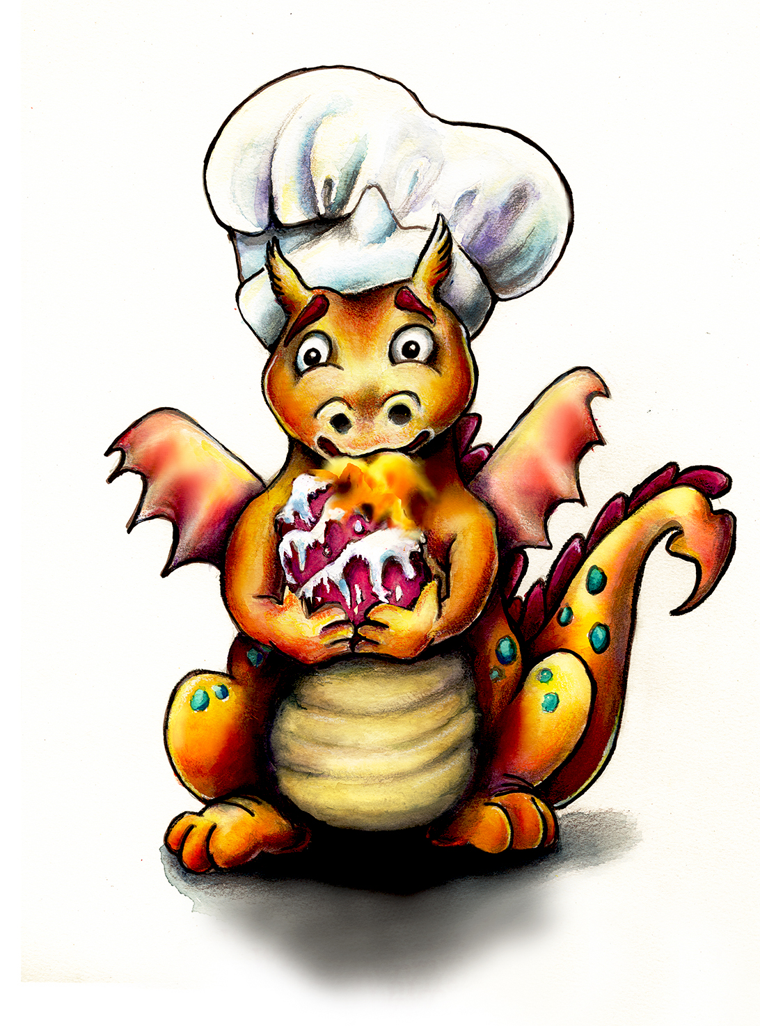Who Let The Dragon Bake the Cake?
