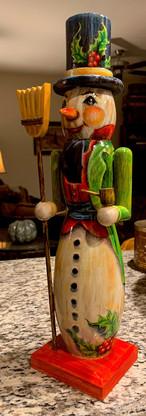 Snowman Nutcracker