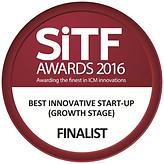 SiTF Awards 2016 Best Innovative Start-Up (Growth Stage) Finalist