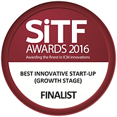 SiTF Awards 2016 Best Innovative Start-Up (Growth Stage) Finalist