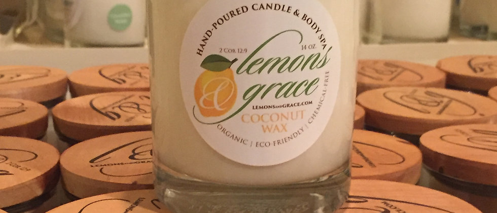 Simply Free Unscented Body Candle