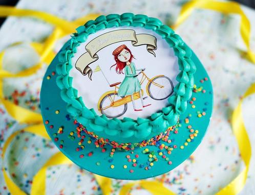 фото торт с картинкой
