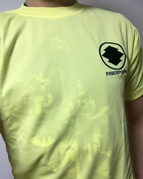 [特3-3] PINE 黄色(ドライ素材Tシャツ)