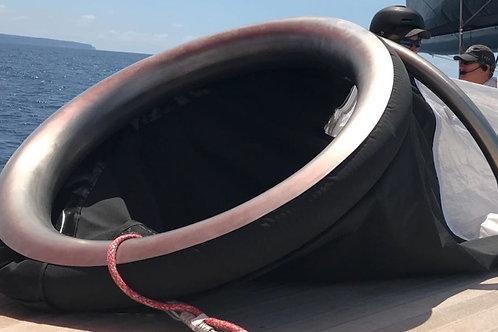 Deckchute with Ø 800 front
