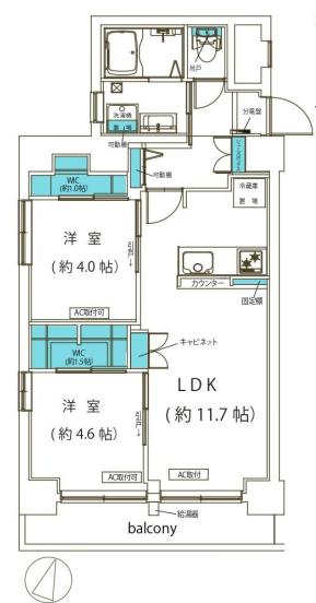 小島町永谷マンション 間取り図.png