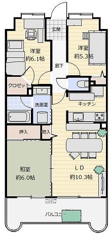 ダイアパレス北松戸 間取り図.jpg