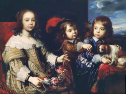 The Children of the Duc de Bouillon,