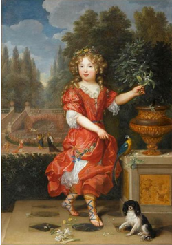 A young Mademoiselle de Blois