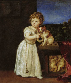 Clarissa Strozzi Aged Two by Titian