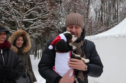 Кавалер - встреча в музее-усадьбе Архангельское 22 декабря