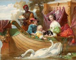 The Children of King Charles 1
