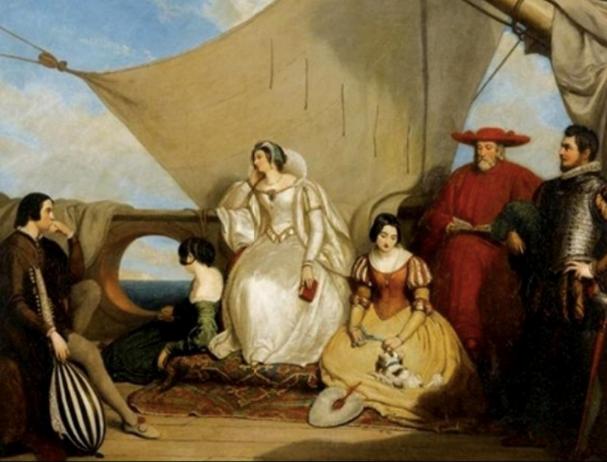 Прощание с Францией Марии Шотландско