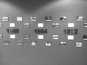 History Walk timeline