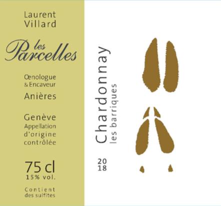 """Chardonnay """"les barriques"""" 2018"""