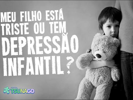 Meu filho está triste ou tem depressão infantil?