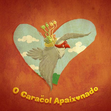 Caracol Apaixonado | children's book_