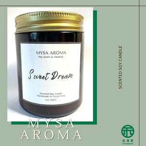 《禾港草》推介:Mysa Aroma - Sweet Dream大豆蠟燭