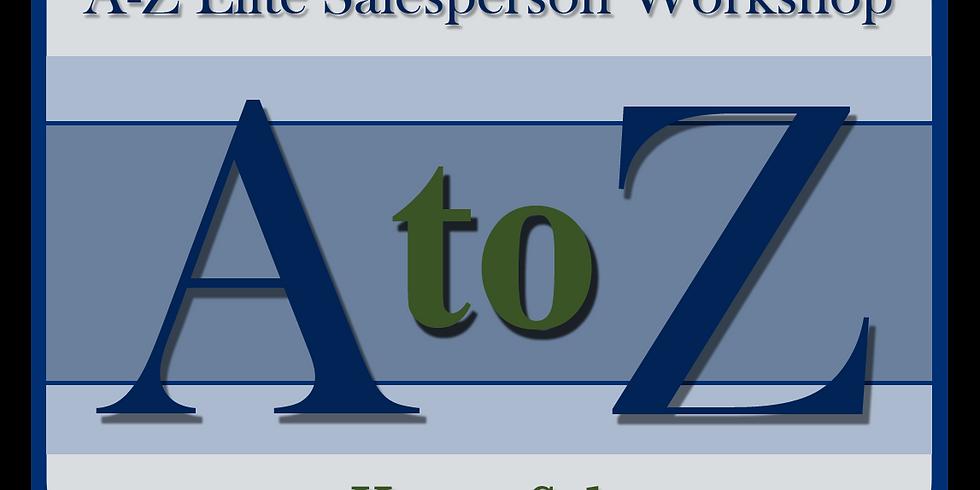 The A-Z Elite Salesperson Workshop