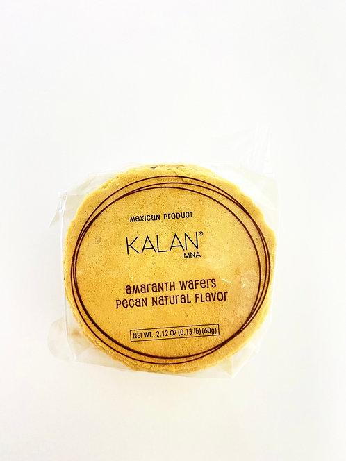 Amaranth pecan obleas (wafers) kalan 50pc