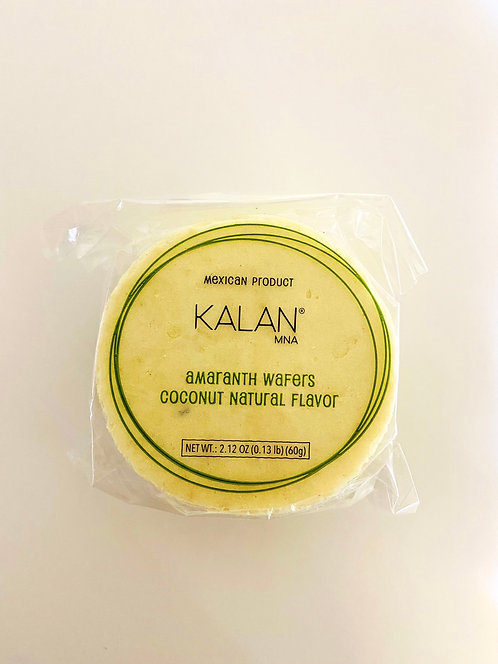 Amaranth Coconut Obleas Kalan 50pc
