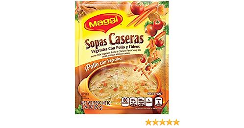 Sopa Casera Chicken with vegetables Maggi 91.8 g
