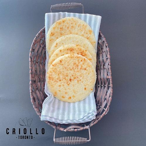 Arepas de maiz Paisa (corn arepas) Criollo 6pc