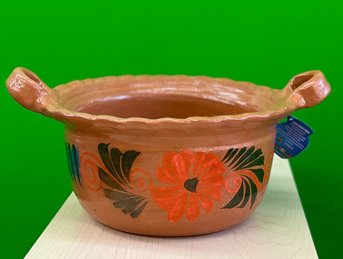 Authentic Mexican Barro Olla Medium Size