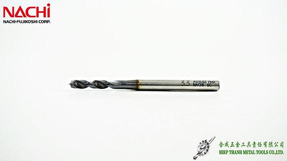 [NACHI] L6596P - Mũi khoan HSS-FMX chuyên Inox (ngắn)