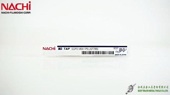 [NACHI] L7950 - Mũi taro HSS-FAX + TICN đa vật liệu | Thẳng